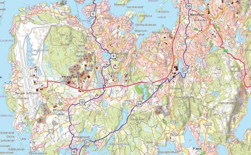 Hjellestad og Arboretet, Bergen