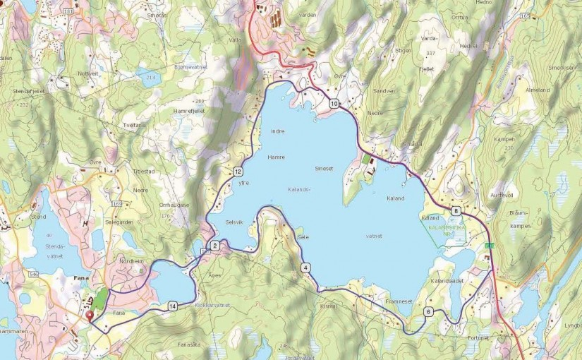 Kalandsvatnet, Bergen